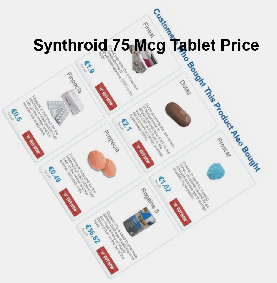 Synthroid 50 mg 200 tablets
